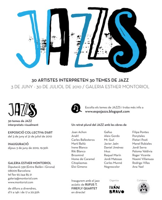 Jazzs exhibition poster